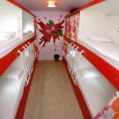 Гостиница HQ Hostelberry Кровать в общем номере с двухъярусной кроватью фото 34