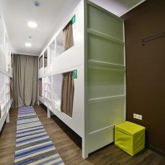 Хостел Nice Пенза Кровать в женском общем номере с двухъярусной кроватью фото 3