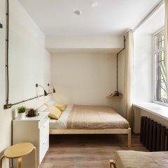 Nice Hostel Павелецкая Номер с общей ванной комнатой с различными типами кроватей (общая ванная комната)