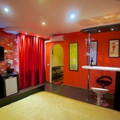 Гостиница Теремок Заволжский Улучшенный номер разные типы кроватей фото 4