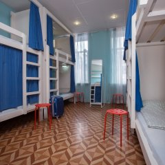 Laguna Hostel Кровать в общем номере с двухъярусной кроватью