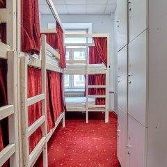 Centeral Hotel & Hostel Кровать в общем номере фото 9