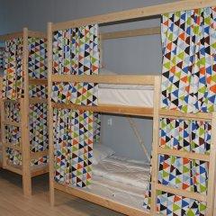 Хостел Bla Bla Hostel Rostov Кровать в общем номере с двухъярусной кроватью фото 3