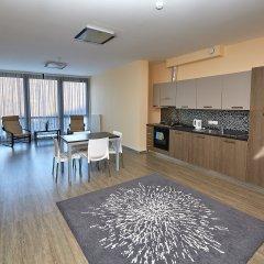 Апарт-Отель Skypark Улучшенные апартаменты с разными типами кроватей фото 24