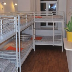 Хостел Абрикос Кровать в общем номере с двухъярусными кроватями фото 2