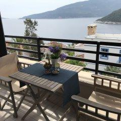 Бутик- True Blue Kalkan Турция, Калкан - отзывы, цены и фото номеров - забронировать отель Бутик-Отель True Blue Kalkan онлайн балкон