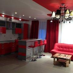 Megapolis Hotel 3* Улучшенные апартаменты с различными типами кроватей фото 25