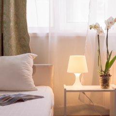 Гостиница Андрон на Площади Ильича Улучшенный номер разные типы кроватей фото 4