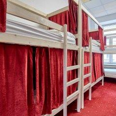 Centeral Hotel & Hostel Кровать в общем номере фото 7