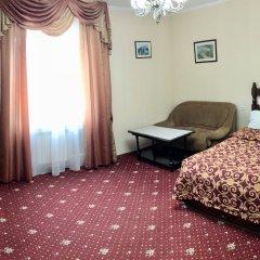 Гостиница Гранд Уют 4* 1-я категория Номер Комфорт двуспальная кровать фото 2