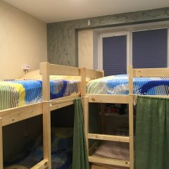 Хостел Аквариум Кровать в общем номере с двухъярусными кроватями фото 16