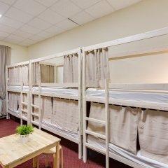 Centeral Hotel & Hostel Кровать в общем номере фото 21