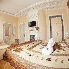Гостиница Императрица Номер Делюкс с разными типами кроватей фото 20