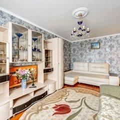 Апартаменты Domumetro na Варшавском шоссе 152к3 комната для гостей