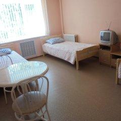 Гостиница Общежитие Карелреспотребсоюза Кровать в общем номере с двухъярусной кроватью