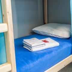 Хостел Рус-Новосибирск Кровать в общем номере двухъярусные кровати