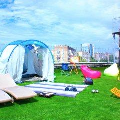 Гостиница Zvezda Rooftop Camping Номер категории Эконом с различными типами кроватей фото 7