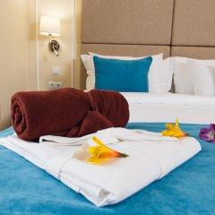 Гостиница Голубая Лагуна Номер Делюкс с различными типами кроватей фото 6