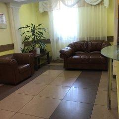 Гостиница Город на Павелецком комната для гостей фото 6