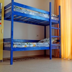 Хостел Мир Без Границ Кровать в общем номере с двухъярусной кроватью фото 15