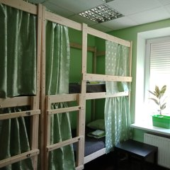 Хостел Меридиан на Фортунатовской Кровать в общем номере с двухъярусной кроватью фото 4