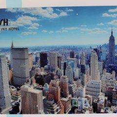 Мини-Отель Global Sky Стандартный номер с различными типами кроватей фото 12