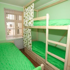 Хостел ВАМкНАМ Захарьевская Номер с общей ванной комнатой с различными типами кроватей (общая ванная комната) фото 9