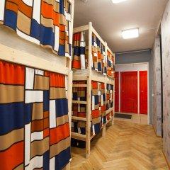 Гостиница Хостелы Рус - Звездный Бульвар Кровать в мужском общем номере с двухъярусной кроватью фото 4