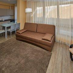 Апарт-Отель Skypark Улучшенные апартаменты с разными типами кроватей фото 23