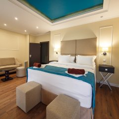 Гостиница Голубая Лагуна Люкс с различными типами кроватей фото 4