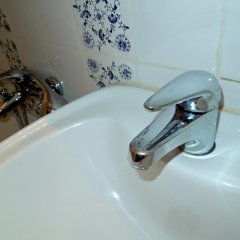 Апартаменты на Ельнинской 15 ванная