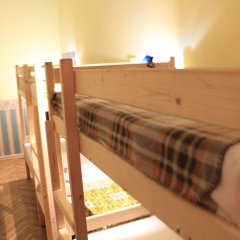 Хостел Любимый Кровати в общем номере с двухъярусными кроватями фото 3