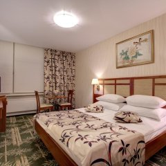 Гостиница Измайлово Альфа Сигма плюс 4* Улучшенный номер разные типы кроватей фото 2