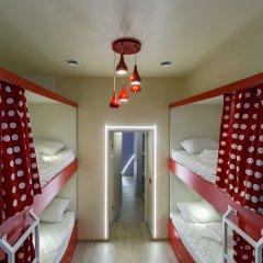 Гостиница HQ Hostelberry Кровать в общем номере двухъярусные кровати фото 21