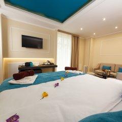 Гостиница Голубая Лагуна Люкс с различными типами кроватей фото 10