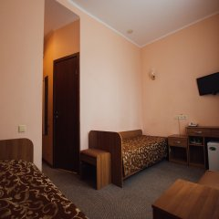 Гостиница Матрёшка Плаза в Самаре 11 отзывов об отеле, цены и фото номеров - забронировать гостиницу Матрёшка Плаза онлайн Самара комната для гостей фото 4