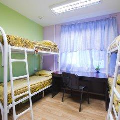 Хостел GORODA Кровать в мужском общем номере