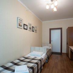 Гостиница Солнечная Стандартный номер с разными типами кроватей фото 10