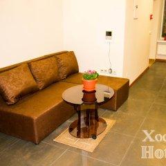 Хостел Hothos Кровать в общем номере с двухъярусной кроватью фото 10