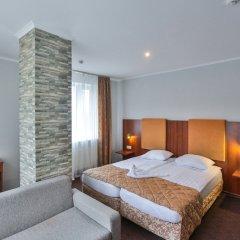 Гостиница Наступ комната для гостей