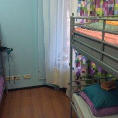 Хостел 7 Sky на Красносельской Кровать в женском общем номере с двухъярусной кроватью фото 3