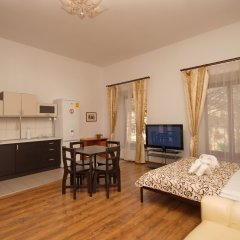 Апартаменты Дерибас Улучшенный номер с различными типами кроватей фото 20
