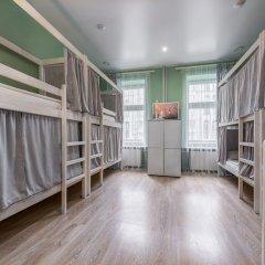 Хостел Маяковский Кровать в общем номере с двухъярусной кроватью фото 2
