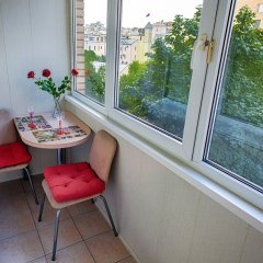Апартаменты LuxHaus балкон