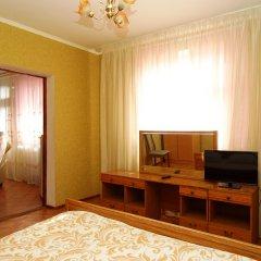 Rusalka Hotel Стандартный семейный номер с различными типами кроватей