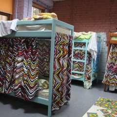 Red House Hostel Кровать в общем номере с двухъярусной кроватью фото 3