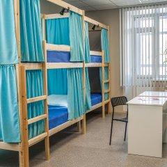 Хостел Рус-Новосибирск Кровать в общем номере двухъярусные кровати фото 2