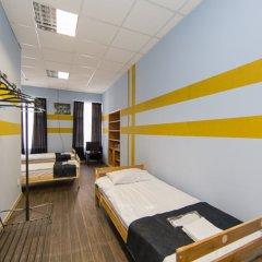 Мини-Отель Компас Номер с общей ванной комнатой с различными типами кроватей (общая ванная комната) фото 9