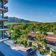Апартаменты Peaceful at Saiyuan Buri Phuket балкон
