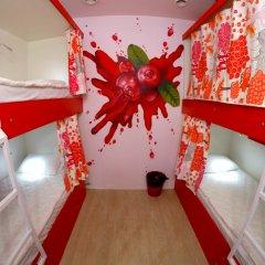 Гостиница HQ Hostelberry Кровать в общем номере двухъярусные кровати фото 33